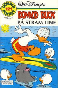 Cover Thumbnail for Donald Pocket (Hjemmet / Egmont, 1968 series) #121 - Donald Duck På stram line [1. opplag]