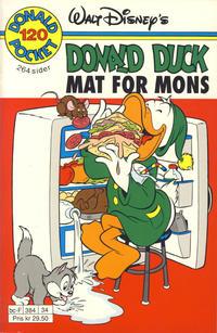 Cover Thumbnail for Donald Pocket (Hjemmet / Egmont, 1968 series) #120 - Mat for mons [Reutsendelse]