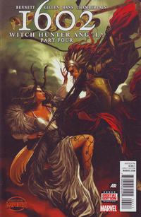 Cover Thumbnail for 1602: Witch Hunter Angela (Marvel, 2015 series) #4