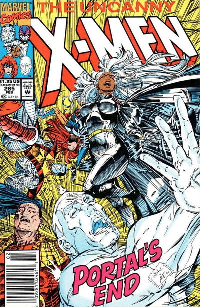 Cover for The Uncanny X-Men (Marvel, 1981 series) #285 [Newsstand]