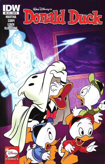 Cover for Donald Duck (IDW, 2015 series) #6 / 373