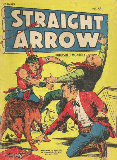 Cover for Straight Arrow Comics (Magazine Management, 1955 series) #35