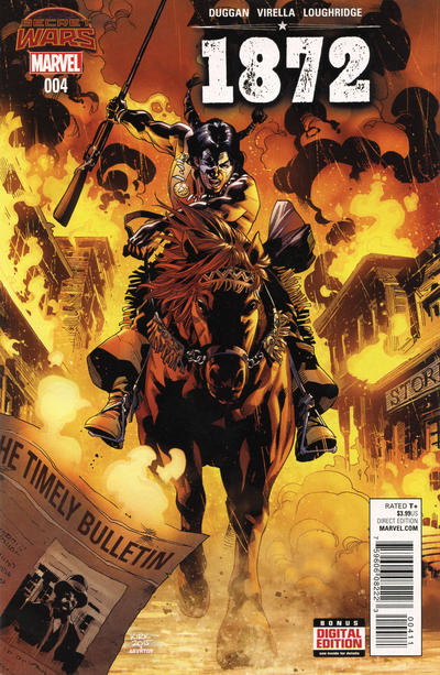 Cover for 1872 (Marvel, 2015 series) #4