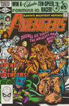 Cover for The Avengers (Marvel, 1963 series) #216 [Direct Edition]