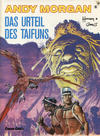 Cover for Andy Morgan (Carlsen Comics [DE], 1986 series) #6 - Das Urteil des Taifuns [2. Auflage]