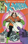 Cover Thumbnail for The Uncanny X-Men (1981 series) #182 [Newsstand Edition]