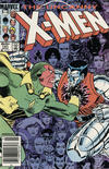 Cover Thumbnail for The Uncanny X-Men (1981 series) #191 [Newsstand Edition]