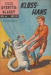 Cover for Junior Eventyrbladet [Eventyrbladet] (Illustrerte Klassikere / Williams Forlag, 1957 series) #30 - Kloss-Hans