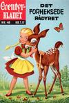 Cover for Junior Eventyrbladet [Eventyrbladet] (Illustrerte Klassikere / Williams Forlag, 1957 series) #48 - Det forheksede rådyret