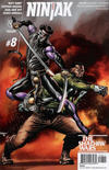 Cover for Ninjak (Valiant Entertainment, 2015 series) #8 [Cover A - Mico Suayan]
