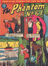Cover for The Phantom (Feature Productions, 1949 series) #61