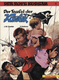Cover Thumbnail for Der Rote Korsar (Carlsen Comics [DE], 1985 series) #1a - Der Teufel der Karibik