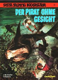 Cover Thumbnail for Der Rote Korsar (Carlsen Comics [DE], 1985 series) #14 - Der Pirat ohne Gesicht