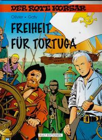Cover Thumbnail for Der Rote Korsar (Kult Editionen, 1996 series) #[29] - Freiheit für Tortuga