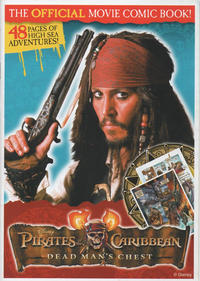 Cover Thumbnail for Pirates of the Caribbean Dead Man's Chest The Official Movie Comic Book (Disney, 2006 series)
