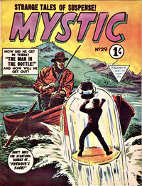 Cover Thumbnail for Mystic (L. Miller & Son, 1960 series) #29
