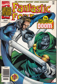 Cover Thumbnail for Fantastic Four (Marvel, 1998 series) #25 [Newsstand]