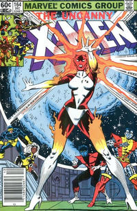 Cover Thumbnail for The Uncanny X-Men (Marvel, 1981 series) #164 [Newsstand]