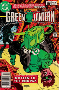 Cover for Green Lantern (DC, 1976 series) #154