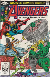 Cover Thumbnail for The Avengers (Marvel, 1963 series) #222 [Direct Edition]