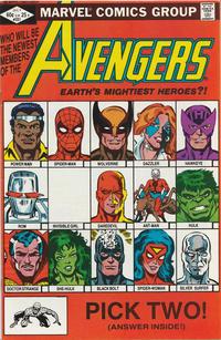 Cover Thumbnail for The Avengers (Marvel, 1963 series) #221 [Direct Edition]