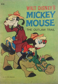 Cover Thumbnail for Walt Disney's Mickey Mouse (W. G. Publications; Wogan Publications, 1956 series) #96