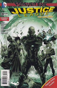 Cover Thumbnail for Justice League (DC, 2011 series) #30 [Combo Pack]