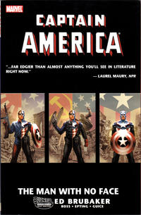 Cover Thumbnail for Captain America: The Man with No Face (Marvel, 2009 series)