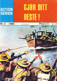 Cover Thumbnail for Action Serien (Atlantic Forlag, 1976 series) #3/1985