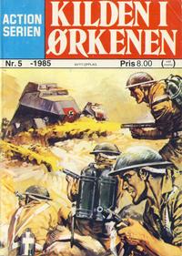 Cover Thumbnail for Action Serien (Atlantic Forlag, 1976 series) #5/1985