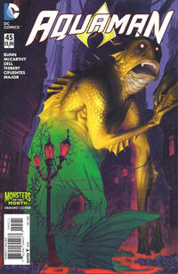Cover Thumbnail for Aquaman (DC, 2011 series) #45 [Monsters of the Month Cover]