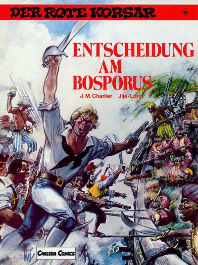 Cover for Der Rote Korsar (Carlsen Comics [DE], 1985 series) #18 - Entscheidung am Bosporus