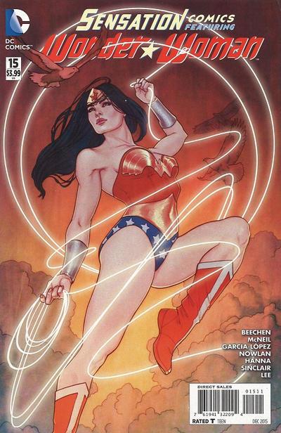 Cover for Sensation Comics Featuring Wonder Woman (DC, 2014 series) #15