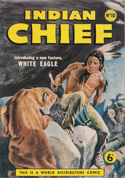 Cover for Indian Chief (World Distributors, 1953 series) #10