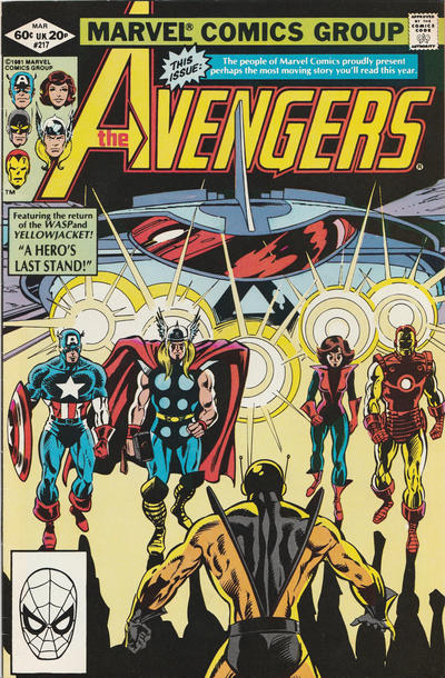 Cover for The Avengers (Marvel, 1963 series) #217 [Direct Edition]