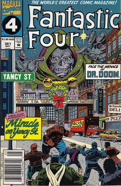 Cover for Fantastic Four (Marvel, 1961 series) #361 [Direct Edition]