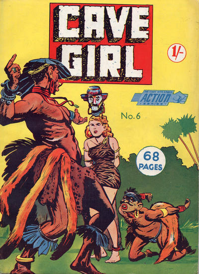 Cover for Action Series (L. Miller & Son, 1958 series) #6