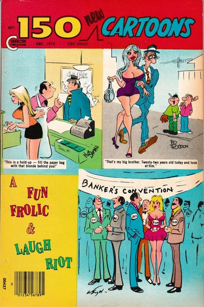 Cover for 150 New Cartoons (Charlton, 1962 series) #66