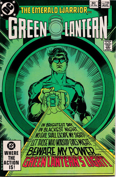 Cover for Green Lantern (DC, 1960 series) #155 [Direct Sales Edition]