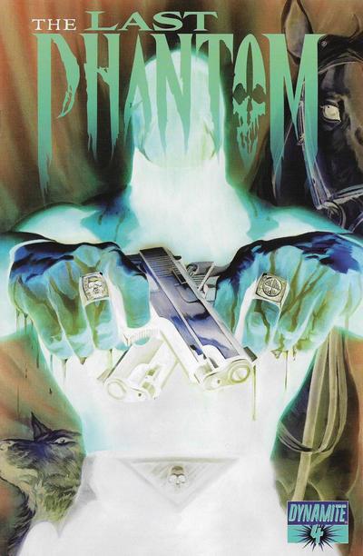Cover for The Last Phantom (Dynamite Entertainment, 2010 series) #4