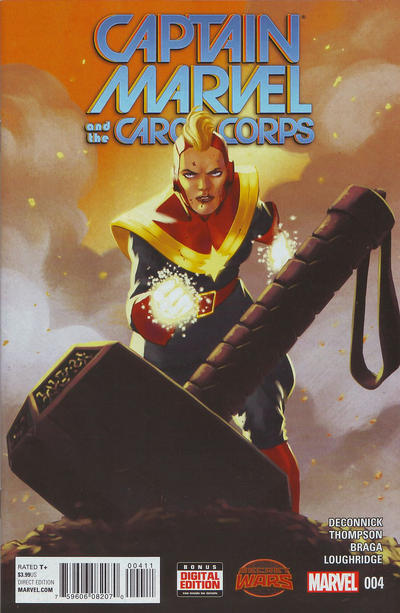 Cover for Captain Marvel & the Carol Corps (Marvel, 2015 series) #4
