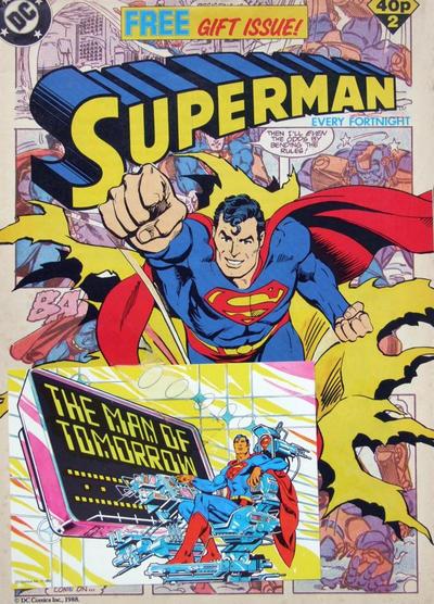 Cover for Superman (Egmont UK, 1988 series) #2