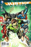 Cover for Justice League (DC, 2011 series) #44 [Green Lantern 75th Anniversary Cover Variant]