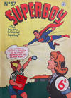 Cover for Superboy (K. G. Murray, 1949 series) #37