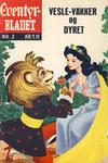 Cover for Junior Eventyrbladet [Eventyrbladet] (Illustrerte Klassikere / Williams Forlag, 1957 series) #2 - Vesle-vakker og dyret [2. opplag [HRN 70]]