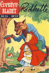 Cover for Junior Eventyrbladet [Eventyrbladet] (Illustrerte Klassikere / Williams Forlag, 1957 series) #12 - Rødhette [2. opplag]