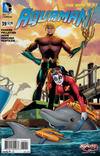 Cover Thumbnail for Aquaman (2011 series) #39 [Harley Quinn Cover]