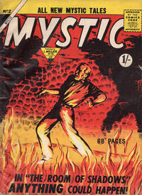 Cover Thumbnail for Mystic (L. Miller & Son, 1960 series) #2
