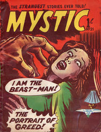 Cover Thumbnail for Mystic (L. Miller & Son, 1960 series) #21