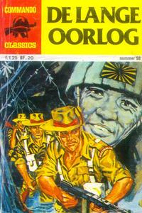 Cover Thumbnail for Commando Classics (Classics/Williams, 1973 series) #58